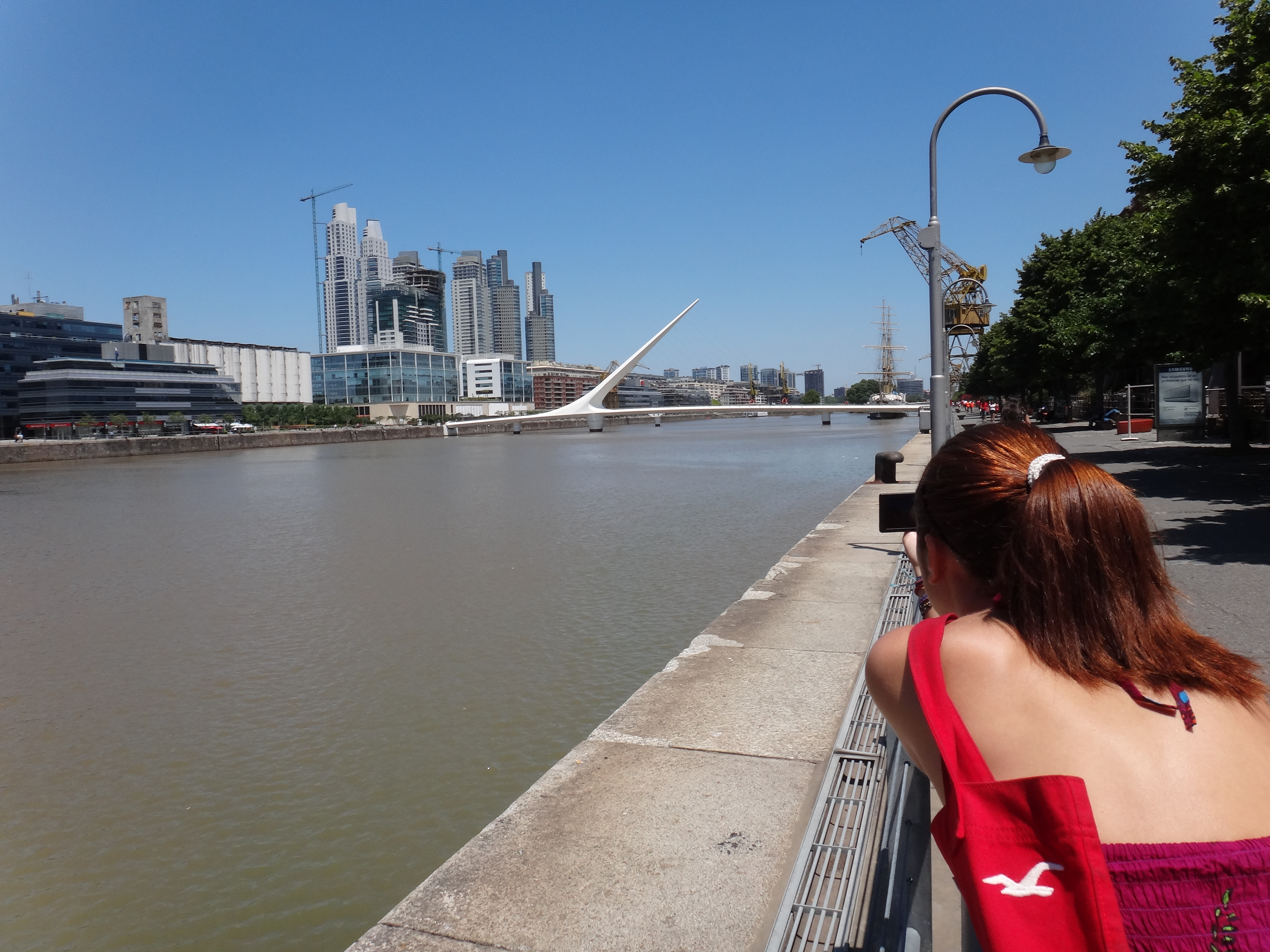 Puente de la Mujer by Santiago Calatrava.