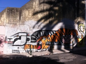 Tiger Graffiti, Lisbon