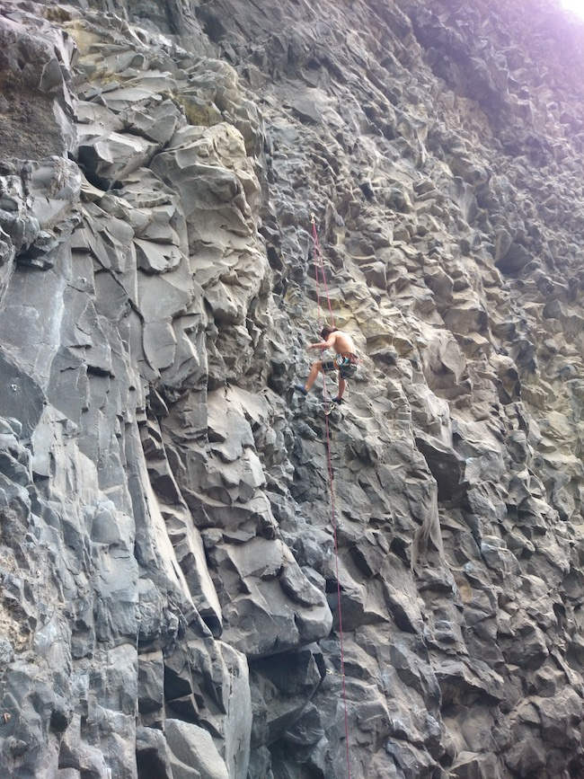 Rock Wall Banos