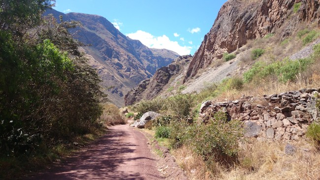 Hike Outside Ollantaytambo