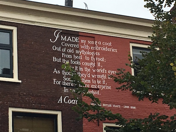 A Coat Wall Poetry Leiden Netherlands