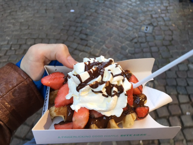 Waffle Chez Albert Bruges