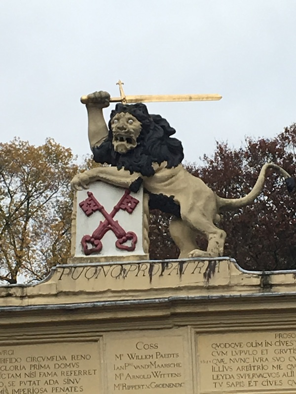 This lion is so metal he wields a broadsword.